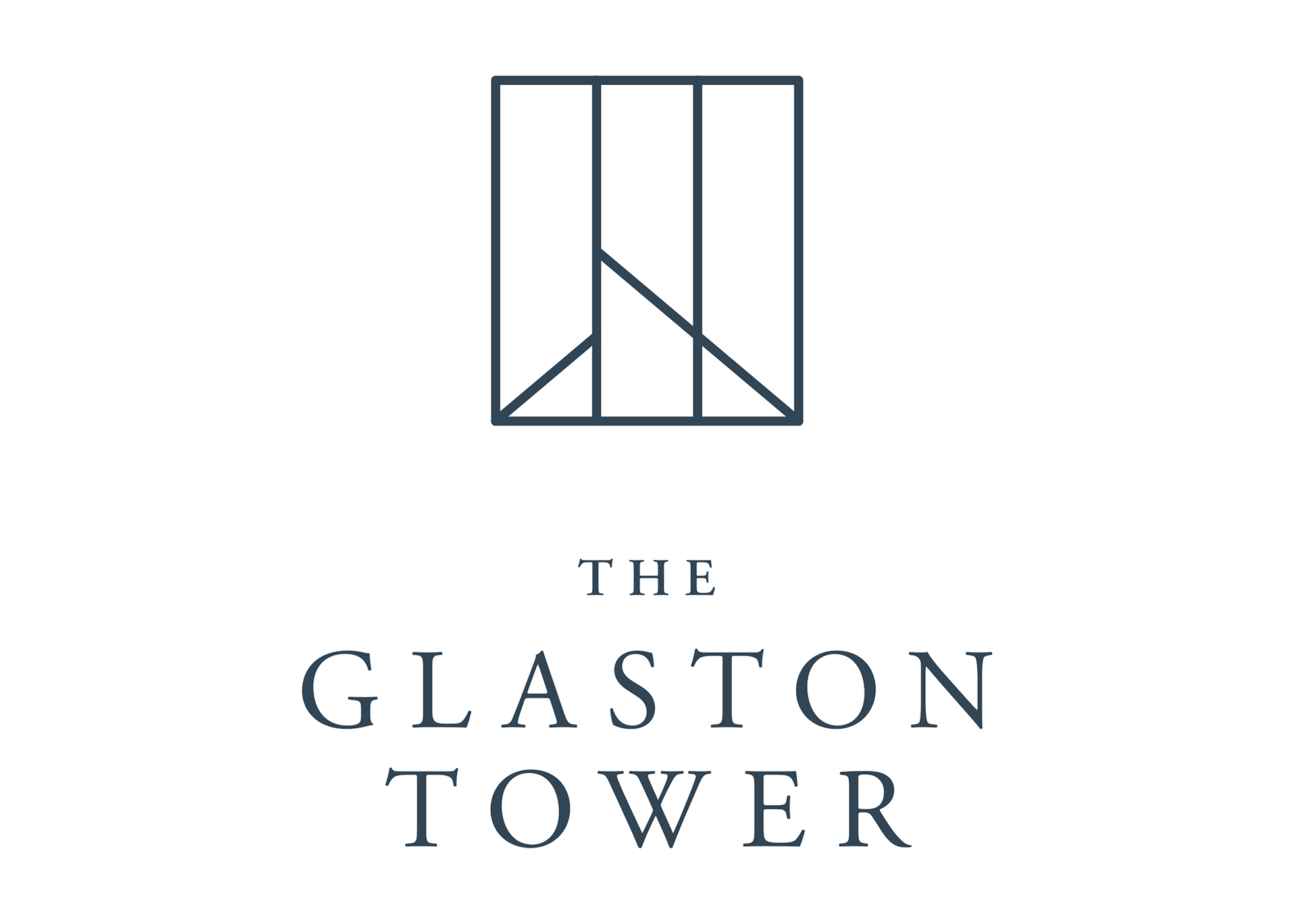 Logo of The Glaston Tower at Ortigas East
